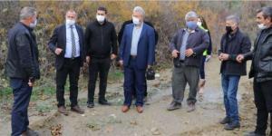 Alifakı'da Yeni İçme Suyu  Hattı Çalışmaları Başladı