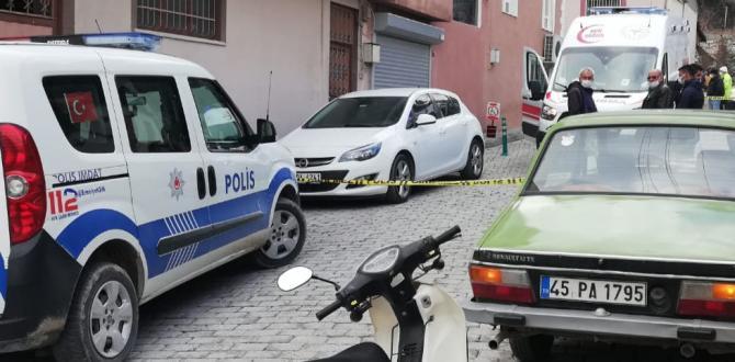 Kırkağaç'ta 1 kişi asılı bulundu