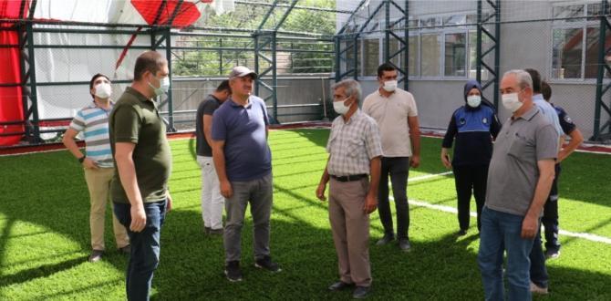 Kırkağaç'ın Projelerinde Çalışmalar Devam Ediyor